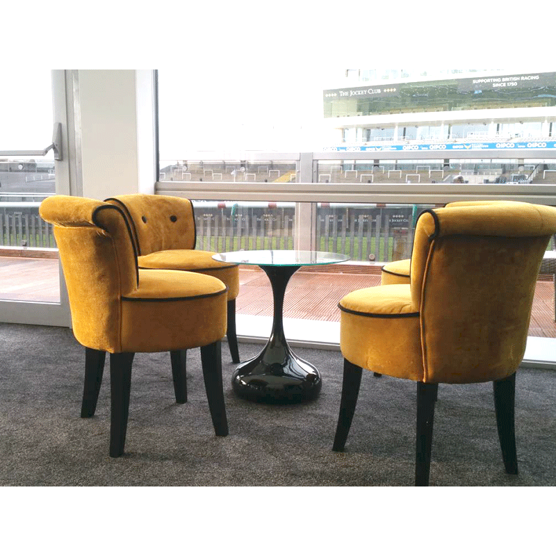 George Gold Velvet Chairs