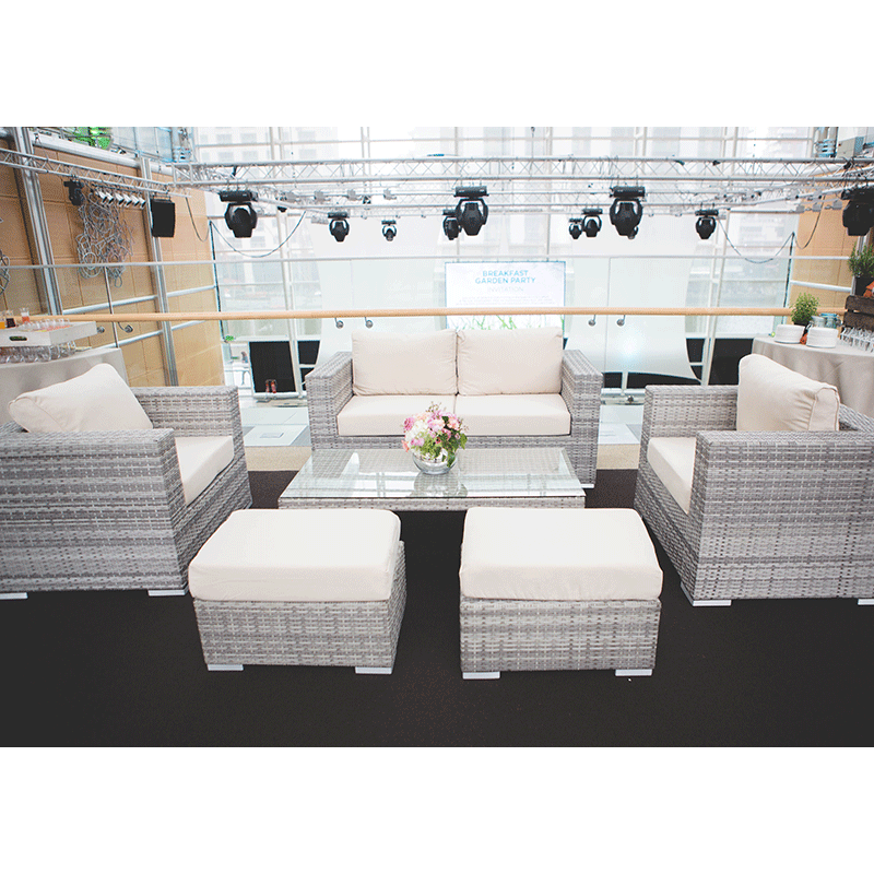 Outdoor Event Furniture Hire