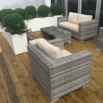 Rattan Garden Armchair