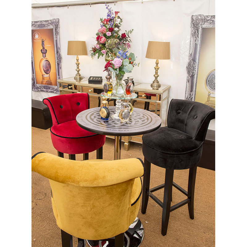 Rent Velvet Bar Stools