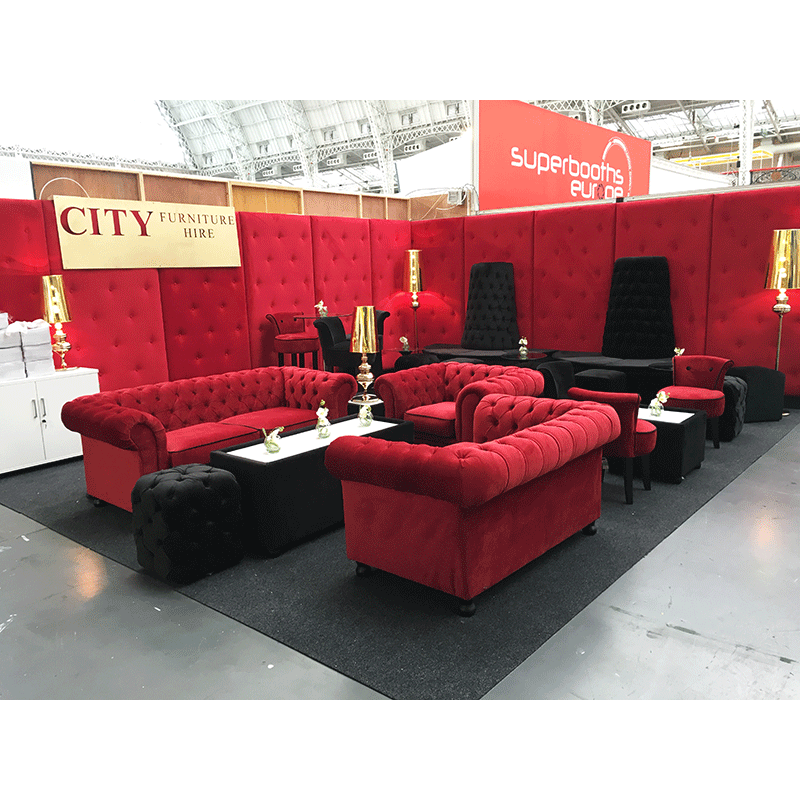 Velvet seating range