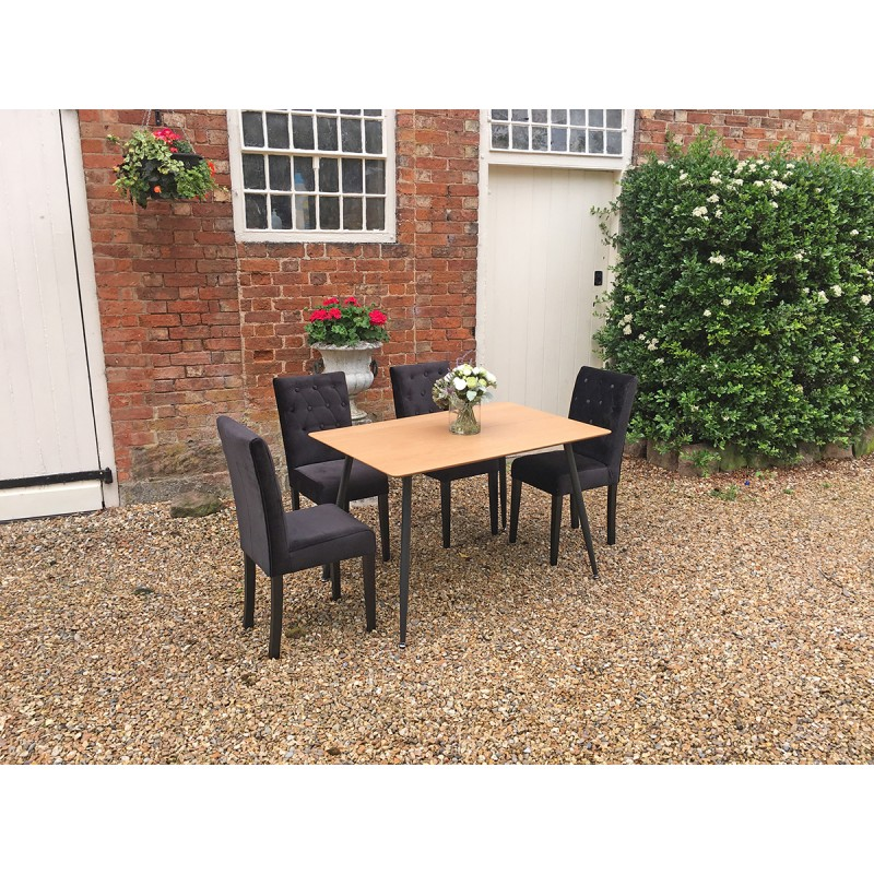 Black Dining Chair Hire London