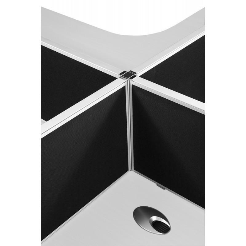 Black Desk Mounted Screen