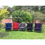 Purple Velvet Wingback Chair