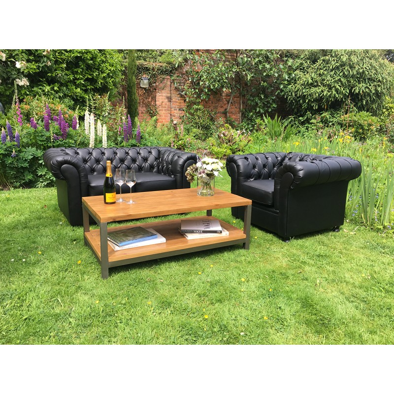 Black Chesterfield Seating HIre