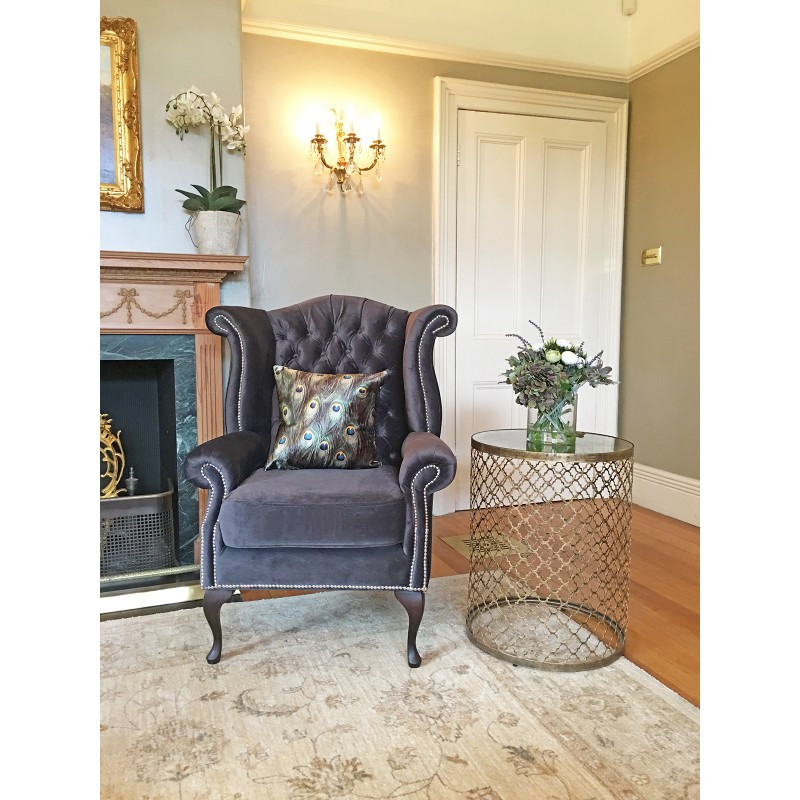 Classic wingback chair hire