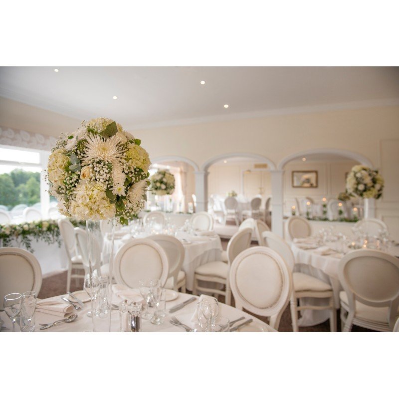 White Wedding Chair Hire
