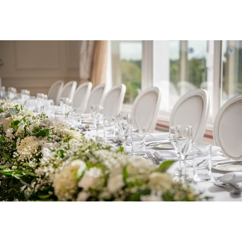 White Event Seating