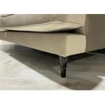 Jolie Mink 2 Seat Velvet Sofa