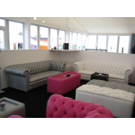 Pink Chesterfield Style Sofa - 2 Seater