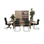 Rectangle Boardroom Table in Oak