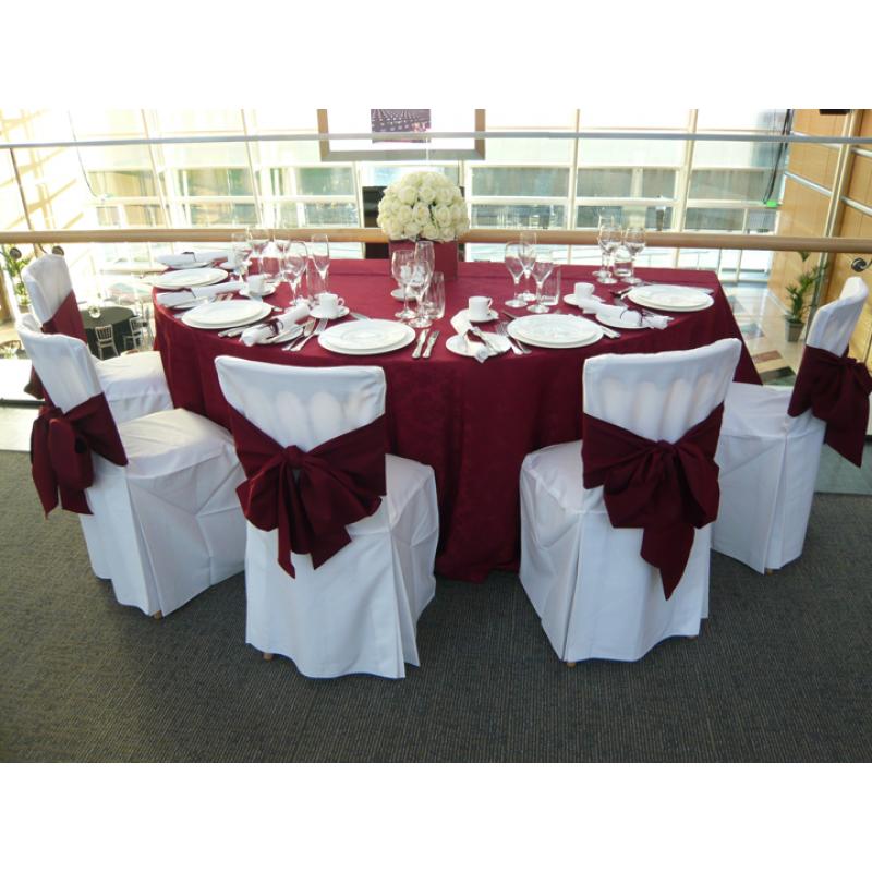 Semi Circle Banquet Table