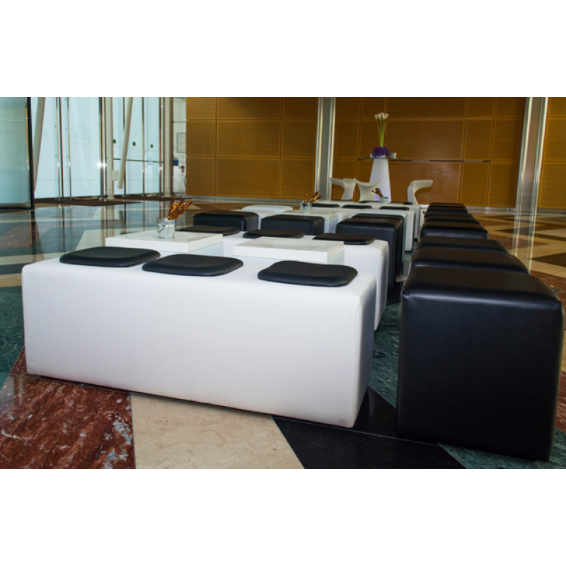 White Modular Seating