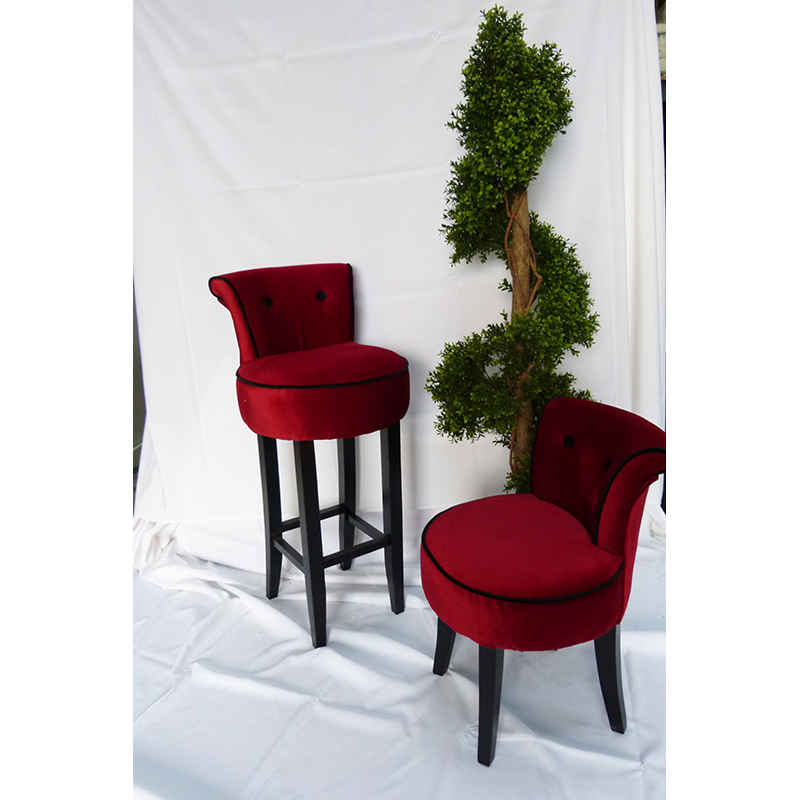 Red Velvet Chair Hire