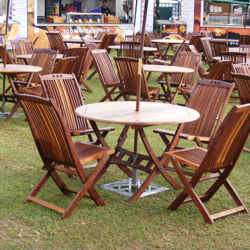 Teak Outdoor Chair Hire