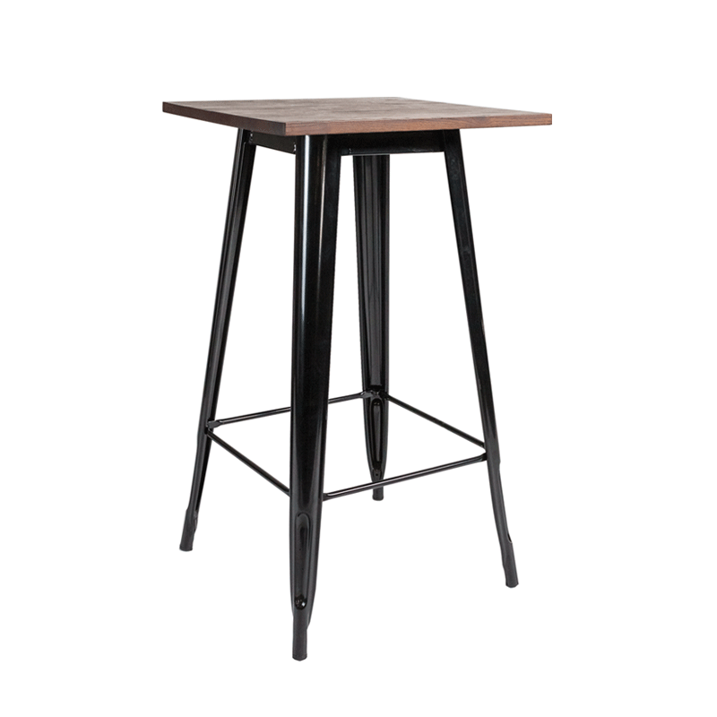 Black Toledo Poseur Table