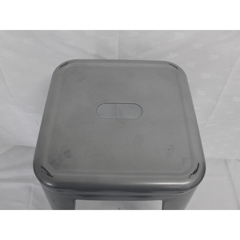 Black Aluminium Stool Hire