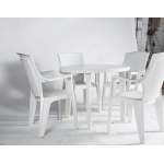 White Plastic Chair Hire