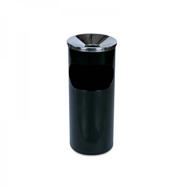 Black Tall Ashtray