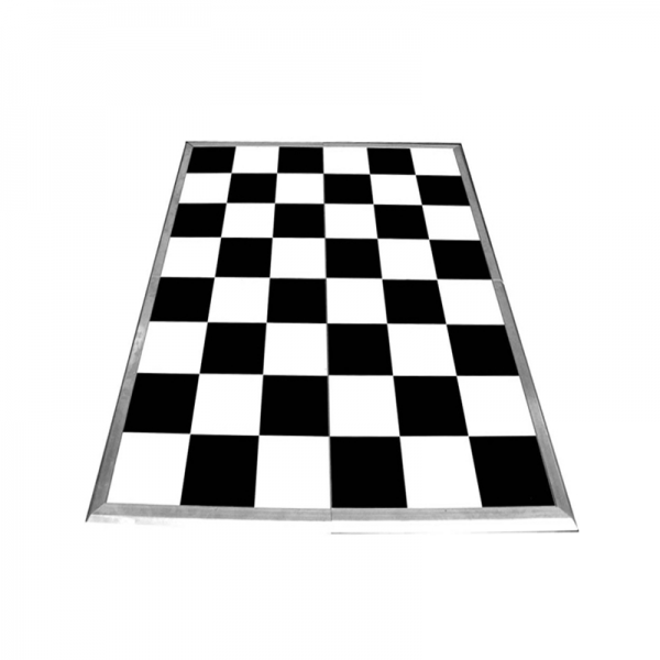 Black & White Chequered Dancefloor