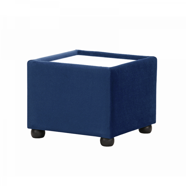 Royal Blue Velvet Coffee Table