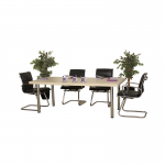 Maple Rectangle Meeting Table