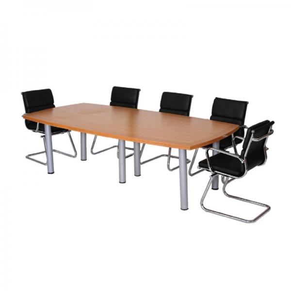 Rectangle Boardroom Table in Oak