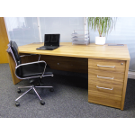 Executive Office Desk in American Walnut