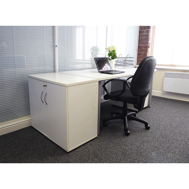 White Office Furniture Hire