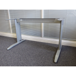 Maple Wire Managed Rectangle Desk
