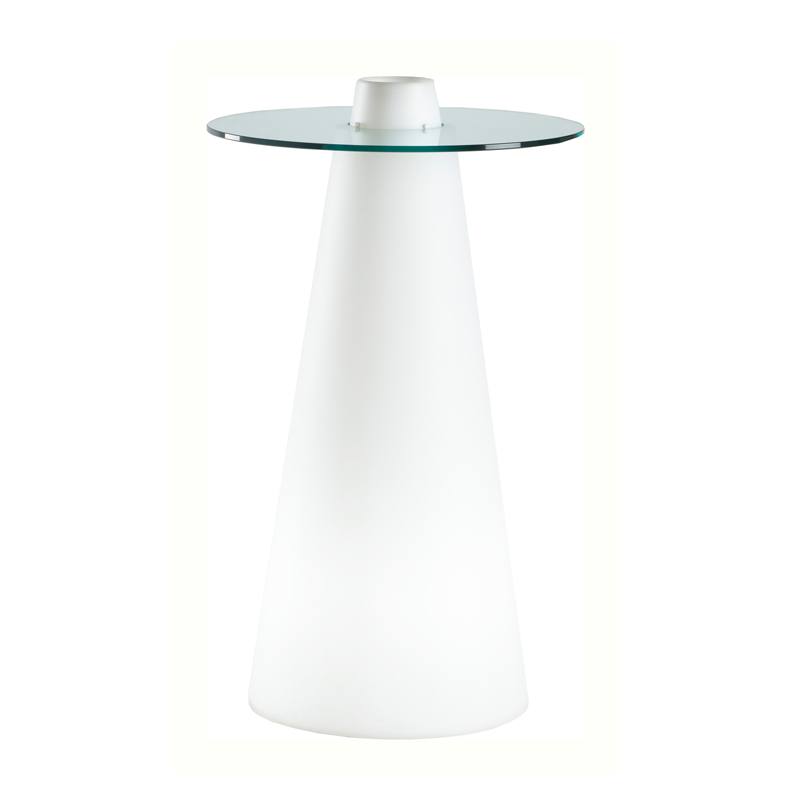 LED Cone Poseur Table