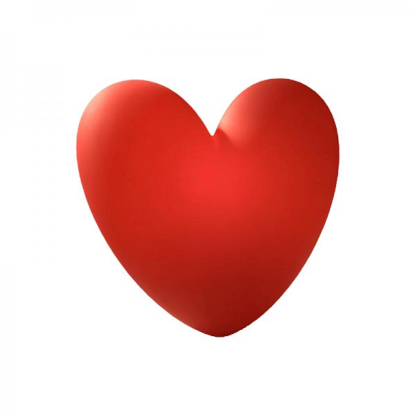LED Heart Lamp