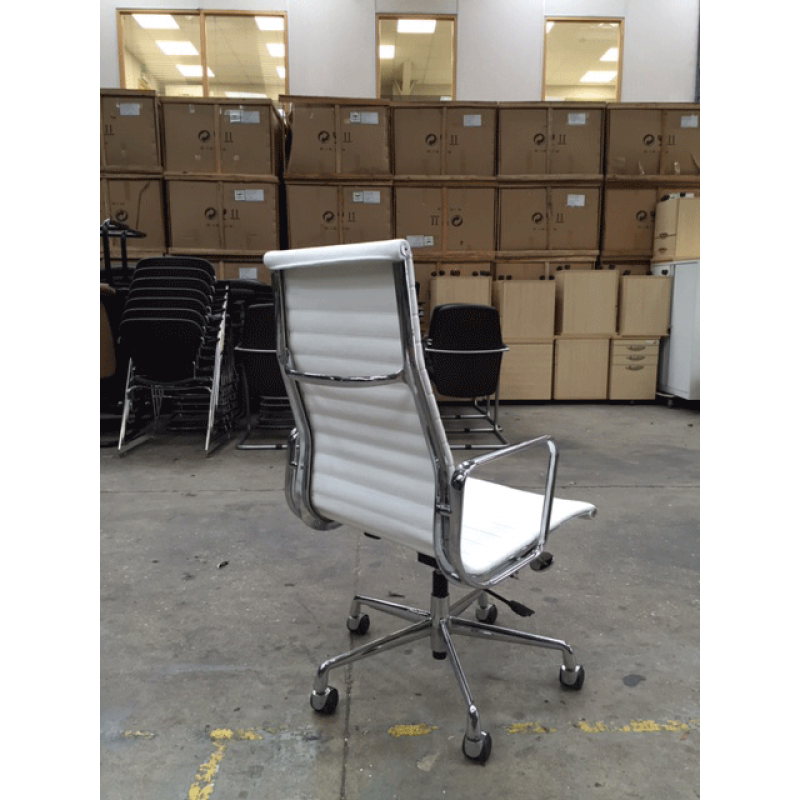 White Executive Chair Hire