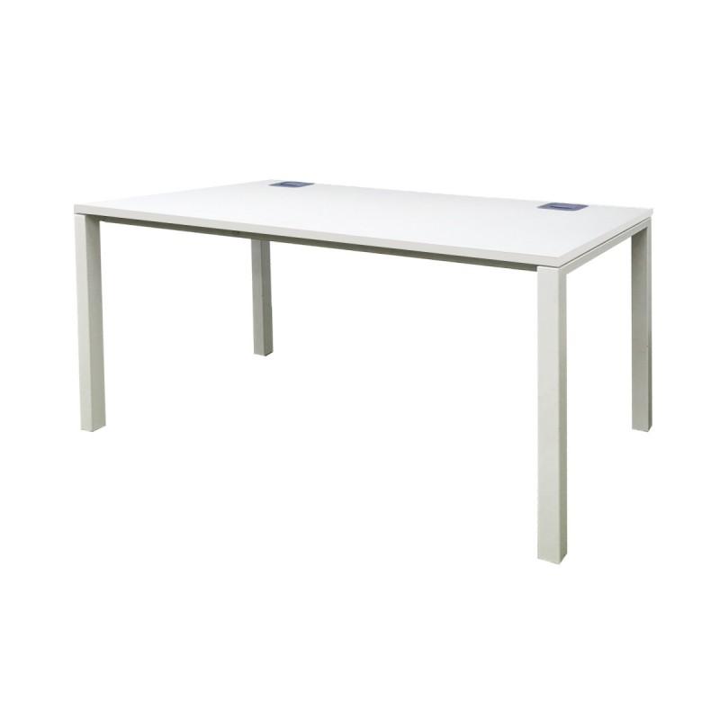 1200 White Rectangle Desk