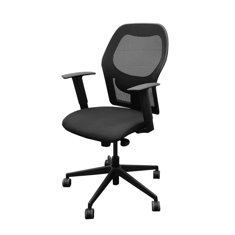Black Mesh Task Chair
