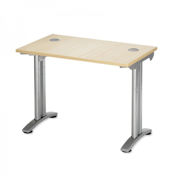 Maple Return Desk Unit