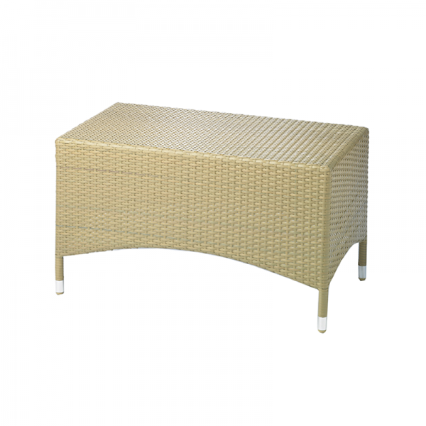 Rectangle Wicker Garden Table