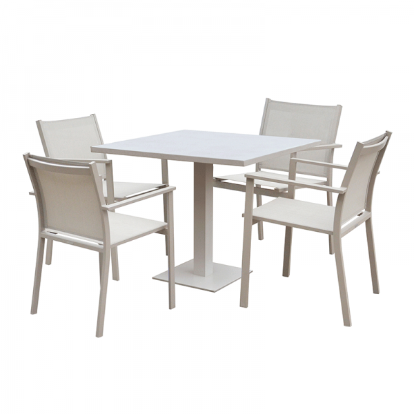 Taupe Garden Furniture Set