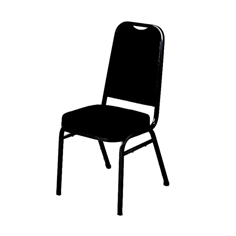 Black Compact Chair