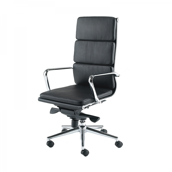 Black Eames Style Executive Chair