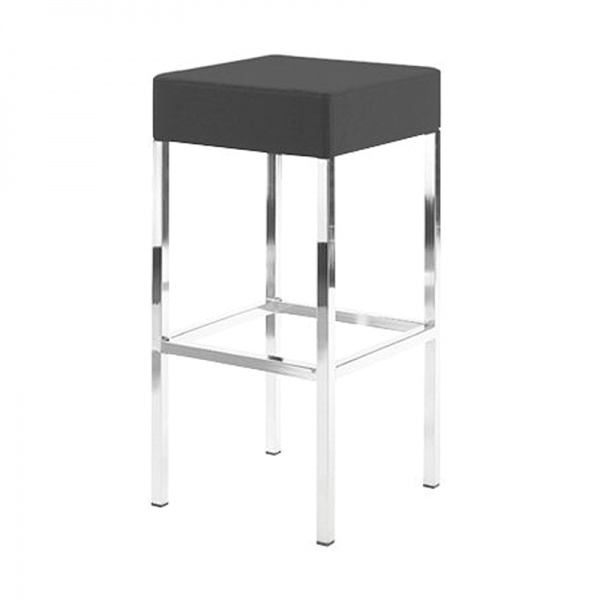 Black Kube Stool