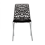 Web Chair Black