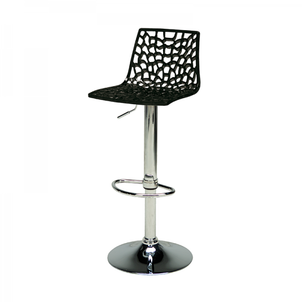 Black Web Stool
