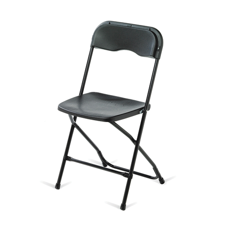 Black Folding Event Chair