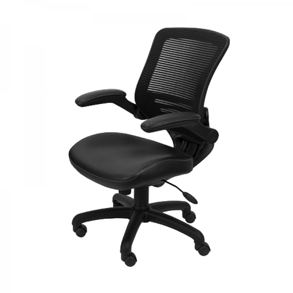 Black Mesh Operator Chair