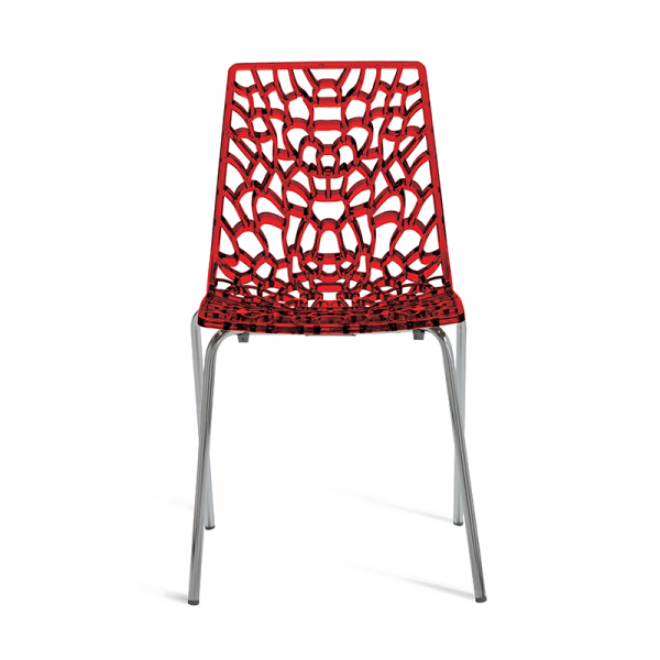 Web Chair Red