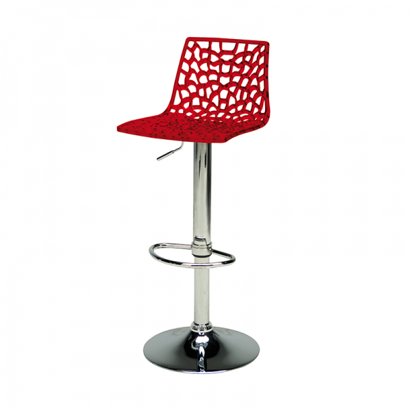 Red Web Stool