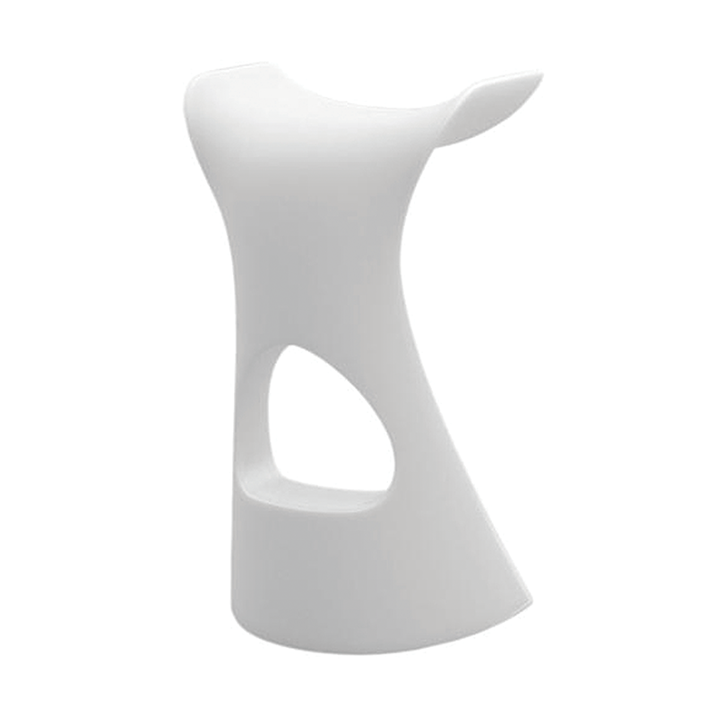 White Plastic Stool