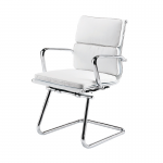 White Eames Style Meeting Chair