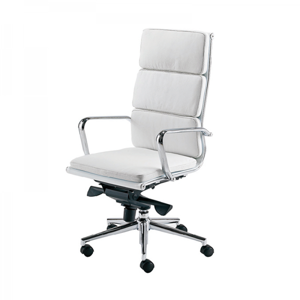 White Eames Style Executive Chair